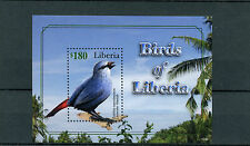 Liberia 2010 MNH Birds of Liberia 1v S/S II Lavender Waxbill Waxbills Stamps