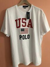 Ralph Lauren Polo USA Flag T-shirt XL P-wing Polo Sport Classic Fit