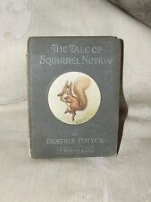 RARE 1903 THE TALE OF SQUIRREL NUTKIN Beatrix Potter 1st American Edition Warne