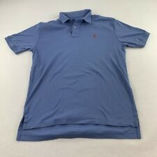New listing Ralph Lauren Polo Shirt Adult Large Blue Red Pony Casual Rugby Mens