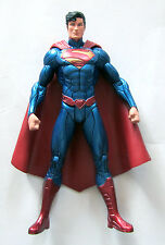 DC Direct New 52 Custom Superman Metallic Paint SDCC Official Show Face
