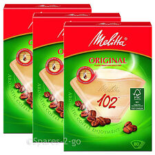 Melitta 1x4 Máquina Cafetera Gourmet intenso filtros de cono de papel de filtro x 640