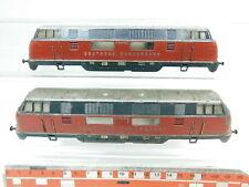 bg257-1 #2x MÄRKLIN H0 bastler-gehäuse para 3021 Locomotora diésel: V 200 006+