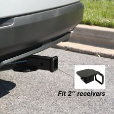 "2""x 2"" Trailer Hitch Tube Plug Receiver Cover Cap Dust Protecter Truck Tailgate"