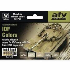 Vallejo Model Air Paint Set - IDF Colors set  - #71210