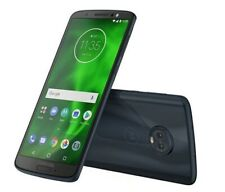 NEW Motorola MOTO G6 FORGE Smartphone LOCKED to CRICKET DEEP INDIGO/UA12-4/12
