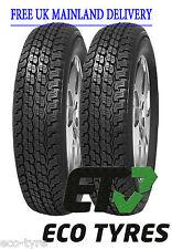 2X Tyres 205 80 R16 104S House Brand RF07 4X4 205 80 16 / 20516 C E 70dB