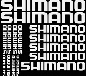 Shimano Vinyl Decals Stickers Bicycle Cycle Mountain Bike Frame Stickers