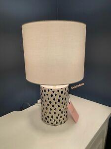 Kate Spade Flamingo Dot Table Lamp Khaki Light Brown