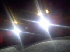 White LED Halo Fog Lamps driving light kit For 2006-2011 Chevrolet HHR Chevy