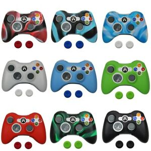 Colorful Silicone Protective Skin Case Cover For Xbox 360 Controller Gamepad