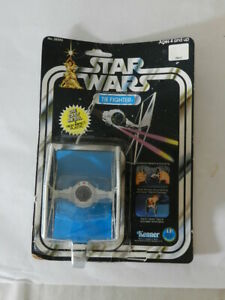 VINTAGE 1978 STAR WARS TIE FIGHTER- KENNER - VINTAGE SPACE TOY- LUKE SKYWALKER