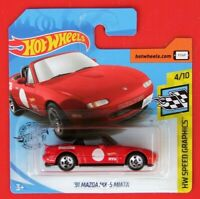 Hot Wheels 2019   ´91 MAZDA MX-5 MIATA rot 184/250 NEU&OVP