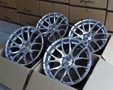 Breyton GTS Hyper Silber 4 Felgen 8,5x19 + 9,5x 19 Zoll BMW 3er E90 E91 E92 E93