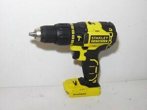 Stanley Fatmax FMC628 18V Cordless Brushless Hammer Drill Bare fully working