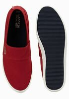 Lacoste Marcie LCR Mens Chili Red White Comfort Casual Sneakers 27SPM1082-DR2