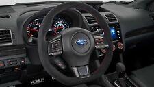 2015-2020 Subaru STI Type RA Suede Steering Wheel WRX STI 34312VA130 GENUINE OEM