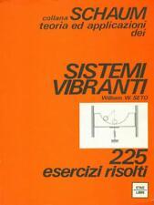 SISTEMI VIBRANTI PRIMA EDIZIONE SETO WILLIA W. ETASLIBRI 1976 SCHAUM