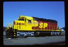Original Slide SP Southern Pacific Clean Kodachrome Paint SD40U 7384 In 1986