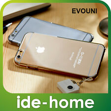 Evouni Premium Crystal Clear Case + 9H Glass Screen Protector for iPhone 6 / 6S