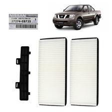 Genuine Cabin Air Filter + Cover White For Nissan Navara D40 Pickup 2006 2014
