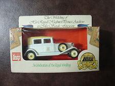 lledo royal wedding promotional vehicle