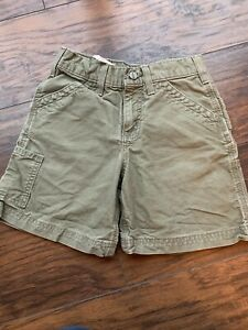 Carhartt Youth Boys Cargo Short Size 8 Olive Color