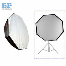 "120cm/47"" Octagon Softbox Studio Strobe Bowens Mount Speedring Portable Soft box"