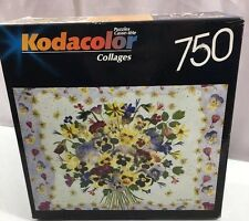 Kodacolor Artistry in Bloom 750 Piece Puzzle by Cheryl Welch - New/Sealed