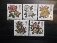 GB 1991 Commemorative Stamps~Roses~Very Fine Used Set~UK Seller