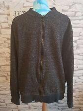 "Burton menswear charcoal grey marl fleck casual jacket Size XXL 44"" chest"