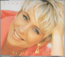 CLAUDIA JUNG - Du ich lieb dich CD SINGLE 2TR Germany 1992 Schlager (ELECTROLA)