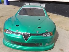 1:10 Alfa Romeo 156 GTA Green Body Shell Only for  RC RADIO CONTROLLED TOY CAR