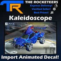 [PS4/PSN] Rocket League Kaleidoscope Universal Import Animated Decal Spring New