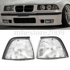 Euro Clear Corner Lights For 92-99 BMW E36 3-Series 318ti/328i/318i 4DR Sedan