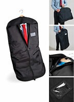 Black Suit Carrier Garment Protector Travel Storage  Bag Holder Carry Cover QD31