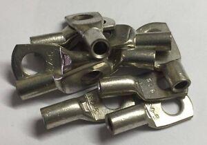10 Pack Uninsulated Ring Eyelet Eye Crimp Terminals 5mm Electrical
