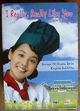 I Really Really Like You Volume 1 (DVD, 2008, 6-Disc Set) Korean TV English sub