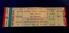 The Eagles UnRipped Ticket Hotel California Tour Nassau Coliseum Ny 3/15/77