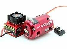 TRACKSTAR 1/10 STOCK CLASS BRUSHLESS ESC 80A & MOTOR COMBO 17.5T 2270Kv ROAR RC