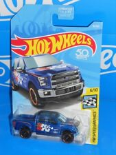 Hot Wheels 2018 Speed Graphics Series #81 '15 Ford F-150 Blue K&N