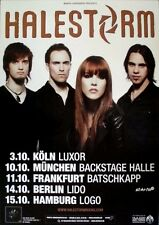 HALESTORM - 2003 - Tourplakat - In Concert - Strange Case Of - Tourposter