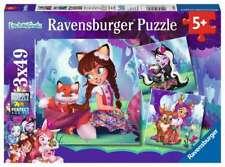 Ravensburger Puzzle Le monde merveilleux des Enchantimals 3x49pièces 080618.