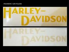 2 x 240mm HARLEY DAVIDSON style Tank decal sticker Harley VARIOUS COLOURS