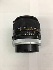 Canon FD 24mm f2.8  Manual Focus Lens