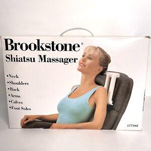 Brookstone Shiatsu Portable Kneading Massager AHP-K5 Neck Back Feet Shoulders