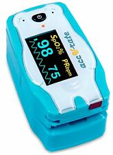 Digital Pediatric Finger Pulse Oximeter SpO2 Blood Oxygen Pulse Rate O2 Meter