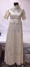 Vintage Wedding Dress- Made by Ilgwu