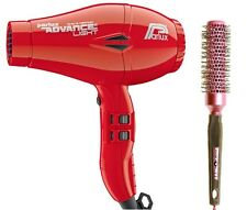 Parlux Advance Light Ionic and Ceramic Hair Dryer Red + Free Brush