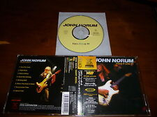 John Norum / Face It Live '97 JAPAN XRCN-2011 1ST PRESS!!!!! B7
